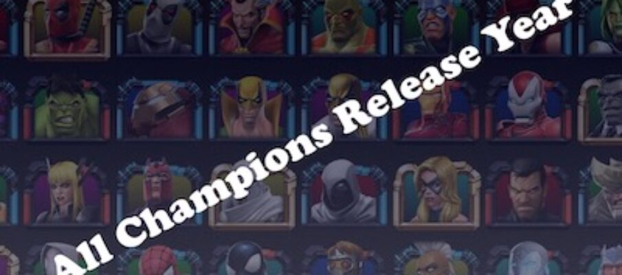 champions release year