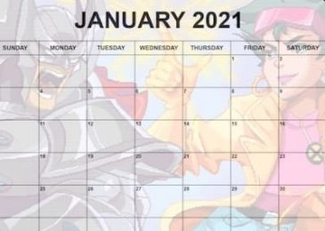 January 2021 Calendar for Contest of Champions