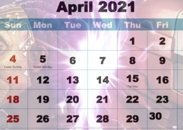 April 2021 Calendar for Contest of Champions