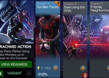 Back Issue #7 (Arachnid Action) Easy Path (Completion)