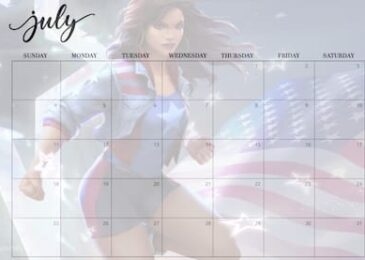 July 2021 Calendar for Contest of Champions